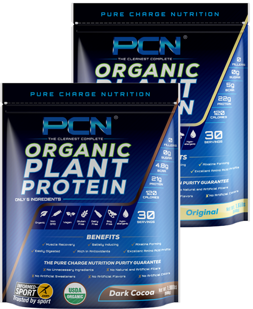 Pure Charge Nutrition Complete Plant Protein Powder 2 Lb